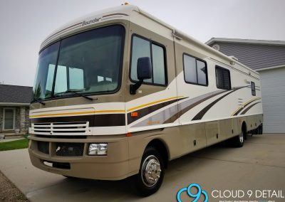Mobile Home RV Detailing