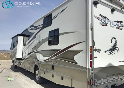 RV Detailing - Wash and Wax Alpine Utah